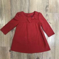 Vestido Vermelho GAP - 6 a 9 meses - Baby Gap
