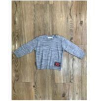 Malha Cinza Paola Tricot - 1 ano - Paola tricot