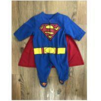Macacão Superman - Recém Nascido - TM & DC COMICS