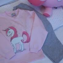 Pijama adoro meu unicórnio!! - 4 anos - Não informada ( Replica) e Dadomile