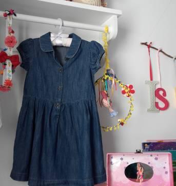 Vestido Jeans - 3 anos - Baby Gap