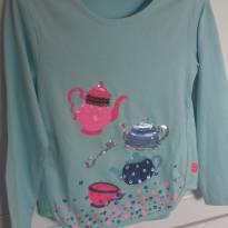 Camiseta Hora do Chá!! - 5 anos - Não informada ( Replica)