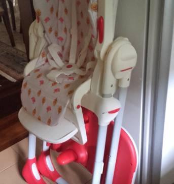 Cadeira de Alimentação - Sem faixa etaria - Chicco