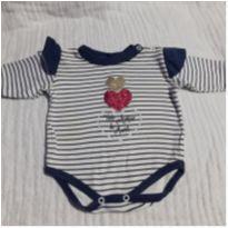 Body bebê - 0 a 3 meses - Não informada