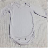 Body branco - 6 meses - Não informada