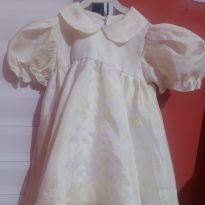 Vestido branco - 1 ano - Não informada