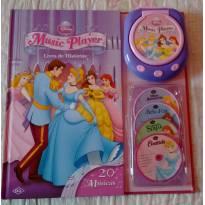Livro Music Player Princesas -  - Dcl