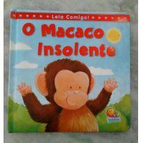 """Livro """"O macaco insolente"""" - Sem faixa etaria - Todo Livro"""