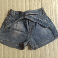 Shorts Jeans Tip Top - 3 anos - Tip Top