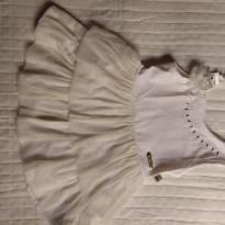 Vestido off white - 3 anos - Kiki Xodó