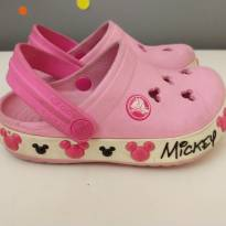 Crocs rosa Minnie - original - 23 - Crocs