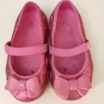 Crocs sapatilha rosa pink - Original - 23 - Crocs