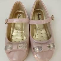 Sapato rosa claro - 25 - Não informada