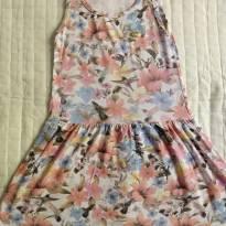 Vestido floral - 6 anos - Livy