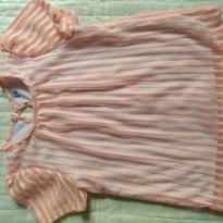 Blusa rosa salmão - 4 anos - Marca não registrada