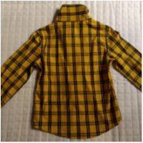 Camisa xadrez feminina - 4 anos - Palomino