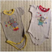 2 bodys Circo - Recém Nascido - Baby fashion