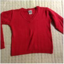 Blusa de linha vermelha - 6 anos - Buá