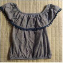 Blusa ciganinha - 6 anos - Fuzarka
