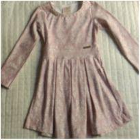 Vestido rosé - 6 anos - Kiki Xodó