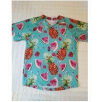 Camiseta piscina Frutinhas - 3 anos - Não informada