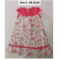 Vestido floral - 2 anos - Angerô