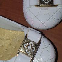 Sapato branco - 25 - Klin