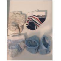 Kit meias - Recém Nascido - Não informada