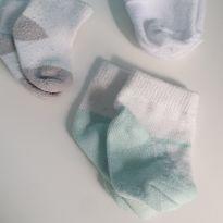 Trio de meias - Recém Nascido - Não informada