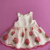 Vestido festa - 9 meses - American Princess