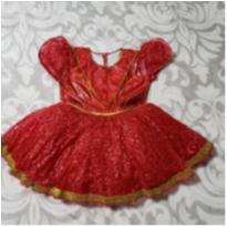 vestido infantil princesa -  - Não informada