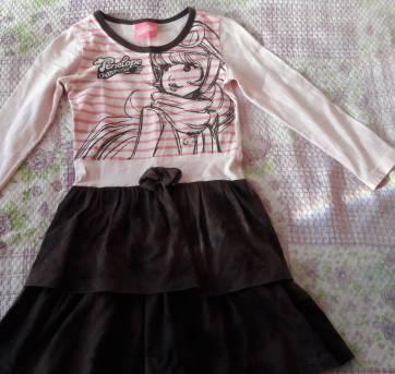 codigo 012 Vestido Manga Longa Penélope Charmosa Tam 4 4 anos no ... 0435cf3bb62