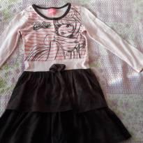 codigo 012           Vestido Manga Longa Penélope Charmosa Tam 4 - 4 anos - penelope charmosa