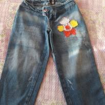 codigo 028              Calça Jeans Fem J&M Tam 8 - 8 anos - J&M