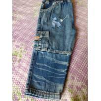 Código 040 calça jeans tam n 1 marca degralzinho - 1 ano - Degralzinho
