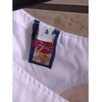 Código 047 vestido branco - 4 anos - Zewar