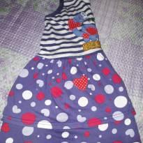 Lote 002 vestido 003 - 3 anos - Elian