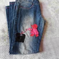 Código 151    calça jeans Tam  10 - 10 anos - Não informada