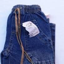 Código  177 calça  jeans Tam 1 marca a.r - 1 ano - Não informada