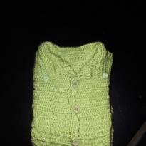 Código  188 blusa de  inverno bebê - 6 a 9 meses - Artesanal