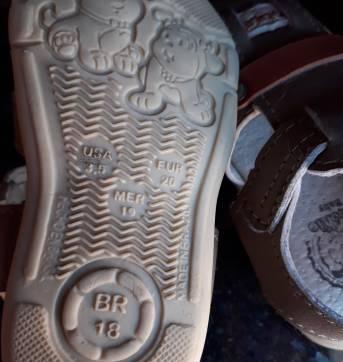 Código  252 sandália Tam 18 Marc pinokio - 18 - Não informada