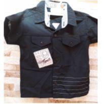 Camisa de menino - 1 ano - Não informada