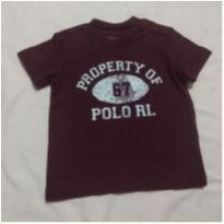 Camiseta Ralph Lauren - 6 meses - Ralph Lauren