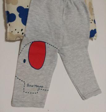 Calça Bicho Molhado - 0 a 3 meses - Bicho Molhado