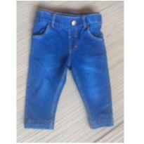 Calça jeans em moletom - 3 a 6 meses - Carter`s