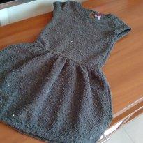 Vestido com detalhes de lantejoulas Lindoo - 6 anos - Fuzarka
