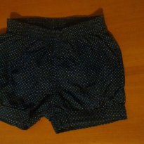 Shorts  Lindoo - 9 a 12 meses - Tip Top