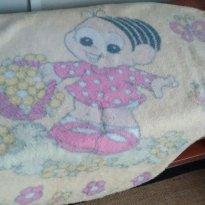 Cobertor da Mônica - Sem faixa etaria - jolitex