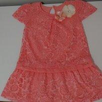 Vestido  Uma graça - 2 anos - Charpey