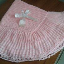 Manta de lã Esta novinhaPouquissímo uso - Sem faixa etaria - Não informada